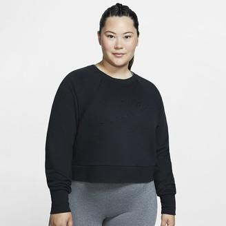 Nike Women's Long-Sleeve Training Top (Plus Size Dri-FIT Luxe