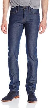 Naked & Famous Denim Men's Skinnyguy Natural Indigo Selvedge Jeans 36