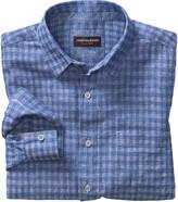 Johnston & Murphy Tonal Square Washed Linen Shirt