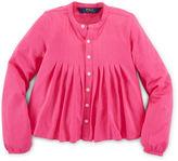 Ralph Lauren Cotton-Blend-Jersey Shirt