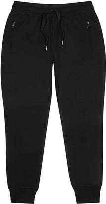 Dolce & Gabbana Black cotton-jersey sweatpants
