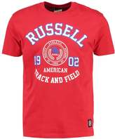 Russell Athletic Print Tshirt Red