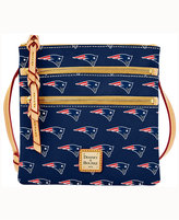 Dooney & Bourke New England Patriots Triple-Zip Crossbody Bag