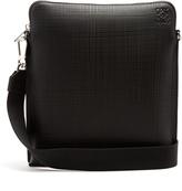 Loewe Goya textured-leather messenger bag