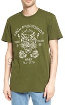 Obey Men's Tiger Graphic T-Shirt