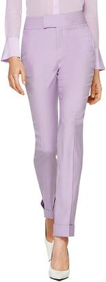 SUISTUDIO Lane Ankle Cuff Wool Trousers