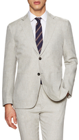 Hardy Amies Linen Notch Lapel Sportcoat