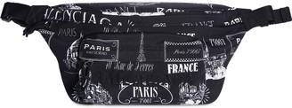 Balenciaga All Over Printed Nylon Belt Bag
