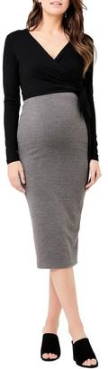 Ripe Ribbed Knit Pencil Skirt