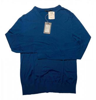 Ermenegildo Zegna Blue Silk Knitwear & Sweatshirts