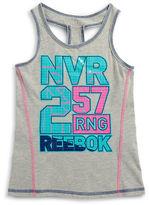 Reebok Girls 7-16 Logo Tank