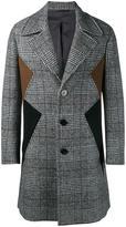 Neil Barrett panelled coat - men - Cotton/Polyamide/Polyester/Virgin Wool - 52