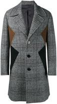 Neil Barrett panelled coat - men - Cotton/Polyamide/Polyester/Virgin Wool - 54