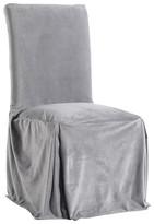 Nobrand No Brand Microfiber Velvet Slipcover Dining Chair