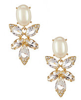 Kate Spade Blushing Blooms Faux-Pearl Drop Earrings