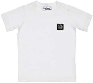 Stone Island Jersey T-Shirt W/ Embroidered Patch
