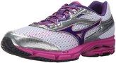 Mizuno Wave Legend 3 Women US 9 Gray Running Shoe