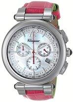 Salvatore Ferragamo Women's FI3010014 IDILLIO Analog Display Swiss Quartz Pink Watch