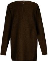 Ellery Napolean open-back wool sweater