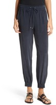 Theory Women's Cortlandt Silk Jogger Pants
