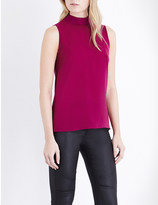 French Connection Polly plains roll neck top