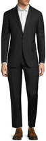 Polo Ralph Lauren Men's Solid Wool 2-Button Notch Lapel Suit