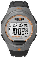 Timex Men's Ironman® Essential 10 Lap Digital Watch - Black/Gray T5K607JT