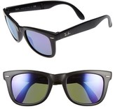 Ray-Ban 'Folding Wayfarer' 50mm Sunglasses (Nordstrom Exclusive)