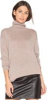 Monrow Cashmere Oversized Turtleneck Sweater