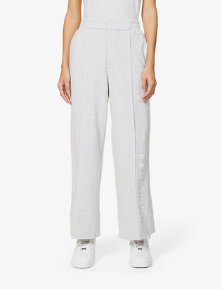 P.E Nation Ariel Drop organic cotton-jersey jogging bottoms