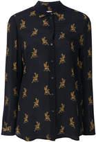 Zoe Karssen cheetah print blouse