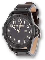 Steve Madden Men's Oversize Nail Head Watch Watch