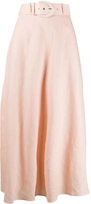 Zimmermann Belted Maxi Skirt
