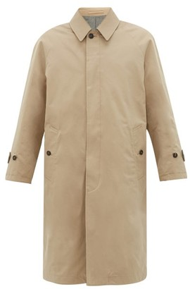 MACKINTOSH Reversible Wool And Cotton Overcoat - Mens - Beige