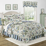 Waverly Charleston Chirp Larkspur Reversible Quilt Set