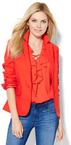 New York & Co. 7th Avenue Jacket - Runway - Campfire Red
