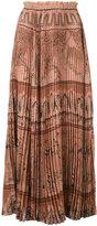 Valentino Garden Of Delight skirt - women - Silk - 38