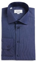 Eton Men's Trim Fit Solid Dress Shirt