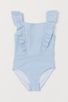 H&M Ruffled Swimsuit