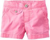Carter's Flap-Pocket Neon Twill Shorts