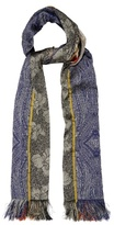 Etro Embroidered Patchwork Scarf