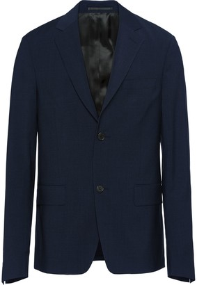 Prada Single-Breasted Wool Jacket