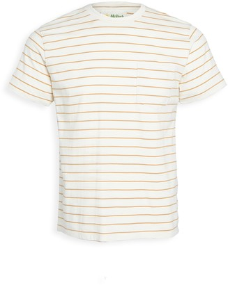 Mollusk Stripe Pocket Tee Shirt