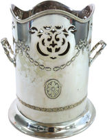 One Kings Lane Vintage English Silver Plate Wine Cooler