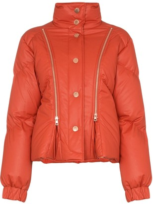 See by Chloe Zip-Detail Puffer Jacket