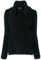 Tom Ford roll-neck knitted sweater - women - Polyamide/Angora - S