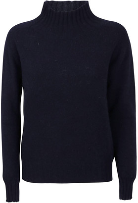 Zanone High-neck Ribbed Sweater