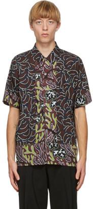 Paul Smith Brown Mountain Floral Shirt