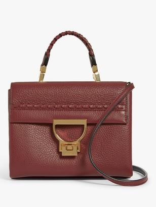 Coccinelle Arlettis Infilatura Leather Mini Bag