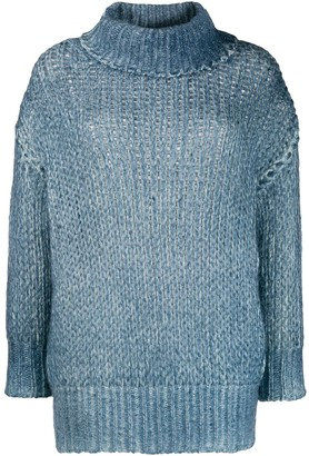 Avant Toi Cable Knit Jumper